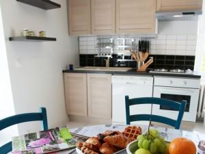 villasoccitanes les Palmiers cuisine