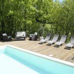 villasoccitanes laviste piscine chauffée 8 m x 4 m
