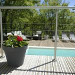 villasoccitanes laviste terrasse vue piscine chauffée 8 m x 4 m