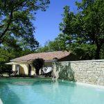 villasoccitanes piscine 8 m x 4 m chauffée et sécurisée par volet électrique