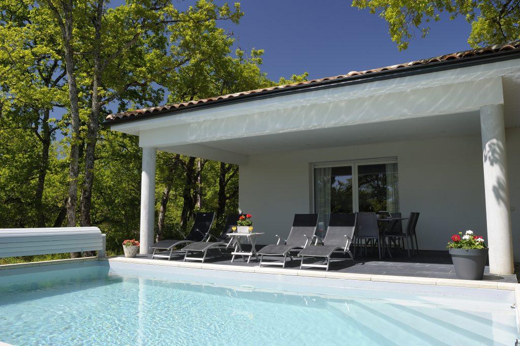 villasoccitanes les cayrous piscine chauffée et la terrasse