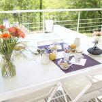 villasoccitanes laviste petit déjeuner sur la terrasse