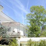 villasoccitanes laviste façade arrière côté jardin