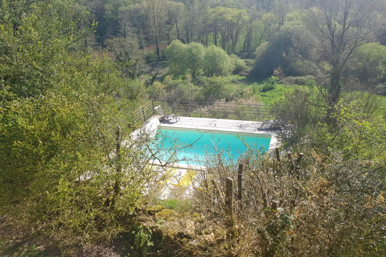 vilasoccitanes les Buis vue piscine