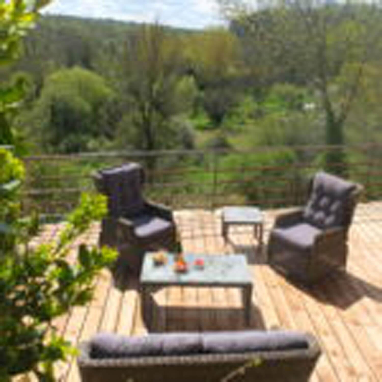 villasoccitanes les Buis terrasse plein sud magnifique vue sur vallée