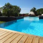 piscine villa pour vacances à louer sur cahors