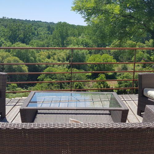 villasoccitanes terrasse vue les Buis